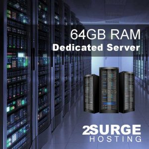Services - 64GB Dedicated Server Hosting
